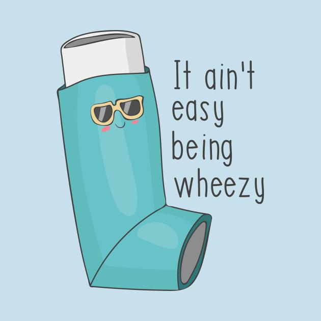 Cold and Flu - Illustration of a asthma inhaler